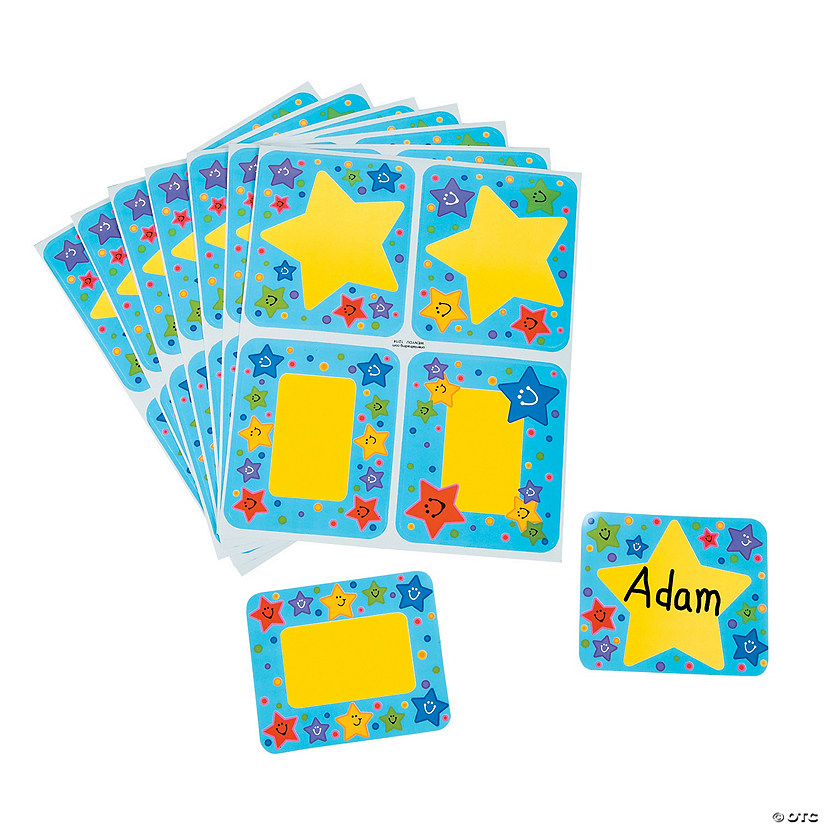 Super Star Name Tags/Labels - Discontinued