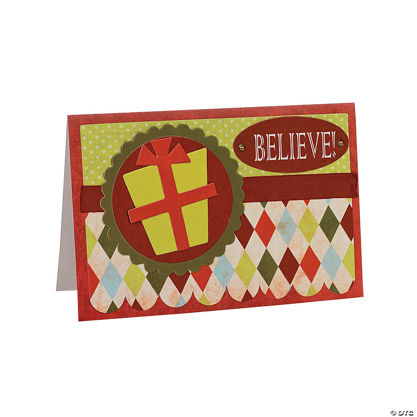 Handmade Religious Christmas Cards.Handmade Christmas Card Kit Discontinued