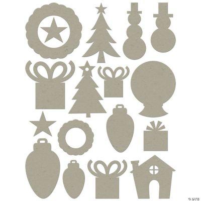 Chip Art Christmas Die Cut Assortment