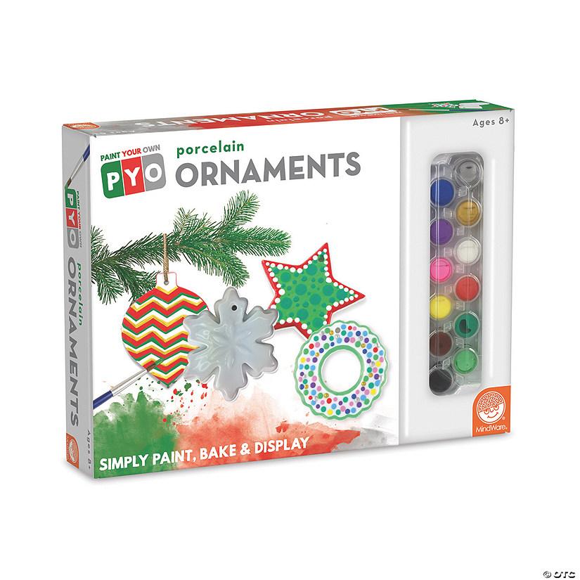 Ornaments Christmas.Paint Your Own Porcelain Christmas Ornaments