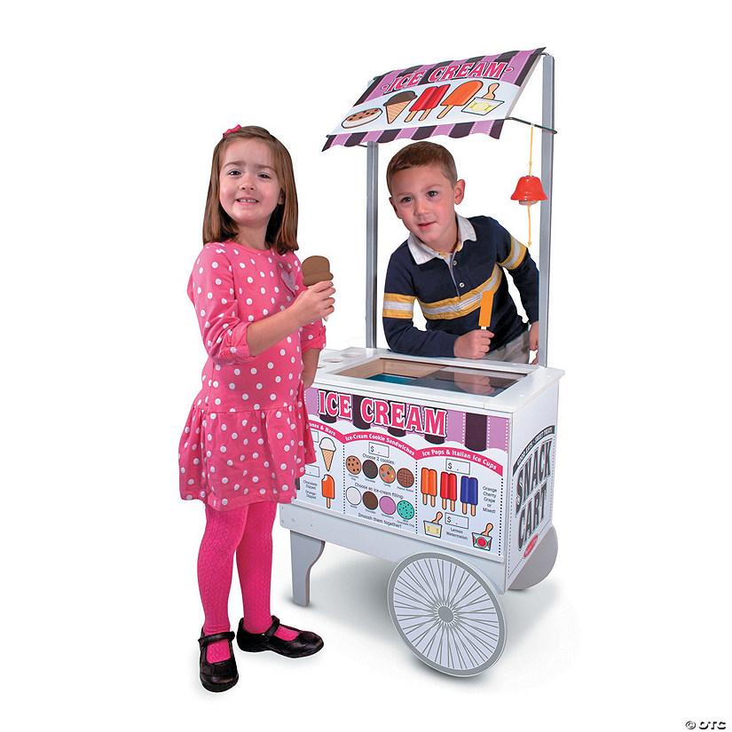 Melissa Doug Snacks Sweets Food Cart Discontinued