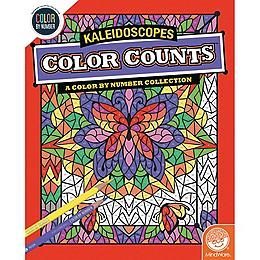 Color by Number Color Counts - Kaleidoscope