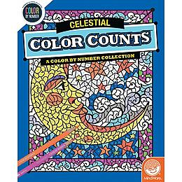 Color by Number Color Counts - Celestial