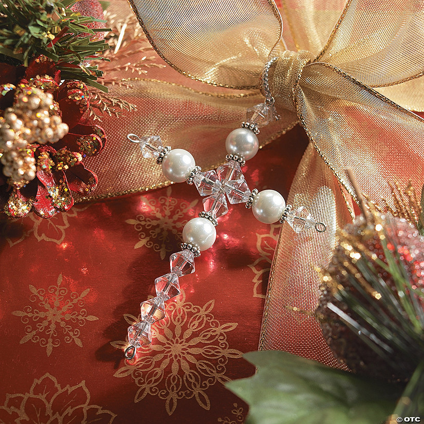 Beaded Cross Ornament Craft Kit