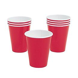 24 Pack Paper Perfectly Paris Cups