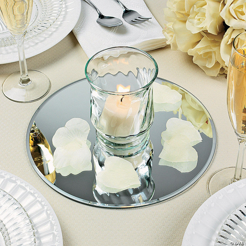 Centerpieces With Glass Mirrors Ideas Best Interior Furniture