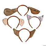 Plush Puppy Ear Headbands Assortment
