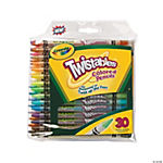 30-Color Crayola® Twistables Colored Pencils - 30 Pcs.