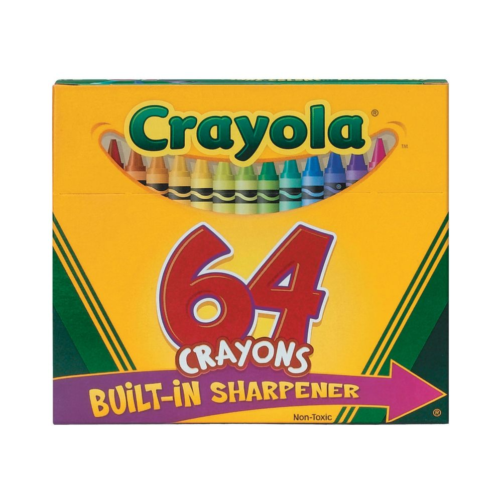 64-Color Crayola® Crayons From MindWare