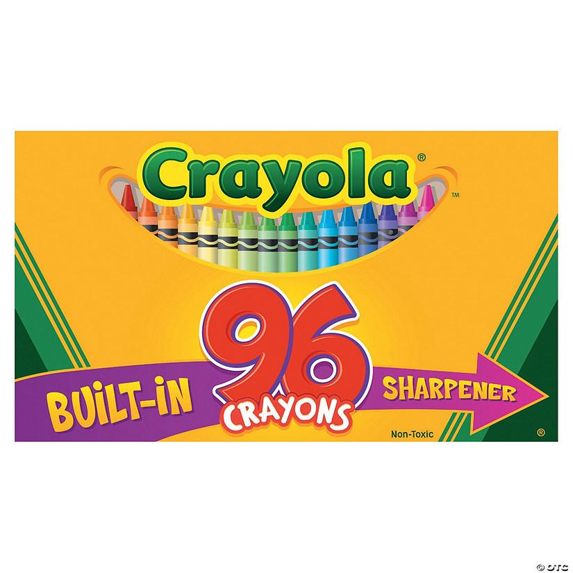 96 color crayola sup sup 96 pc crayons
