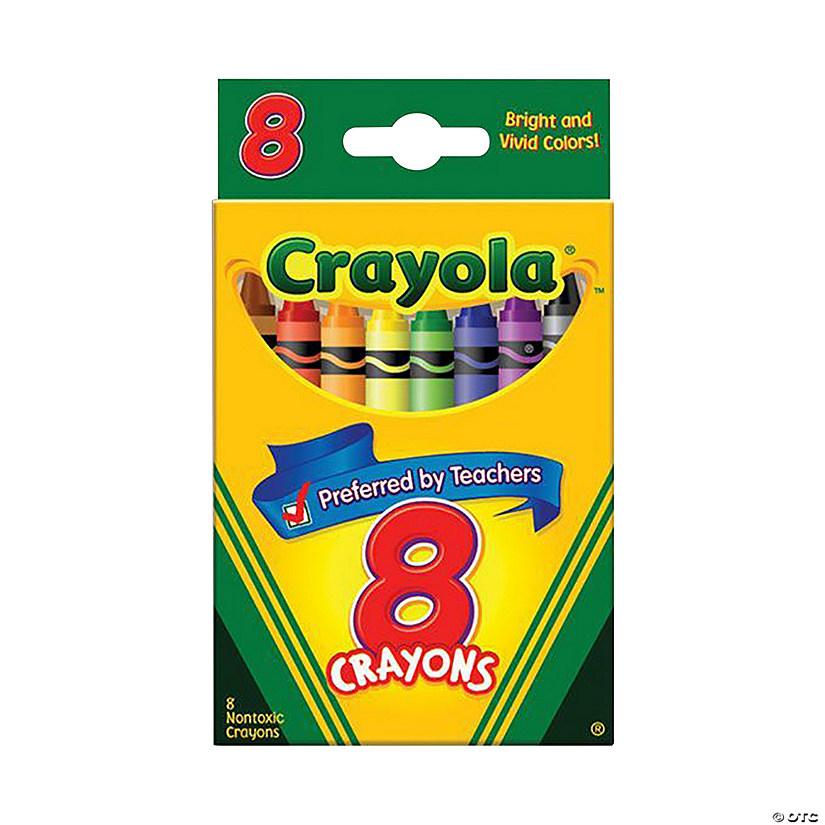 8 color crayola crayons