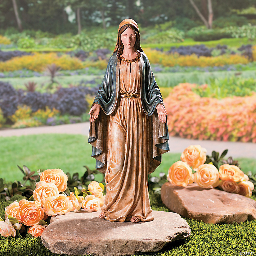 Blessed Virgin Statue Oriental Trading, Blessed Virgin Mary Outdoor Statues