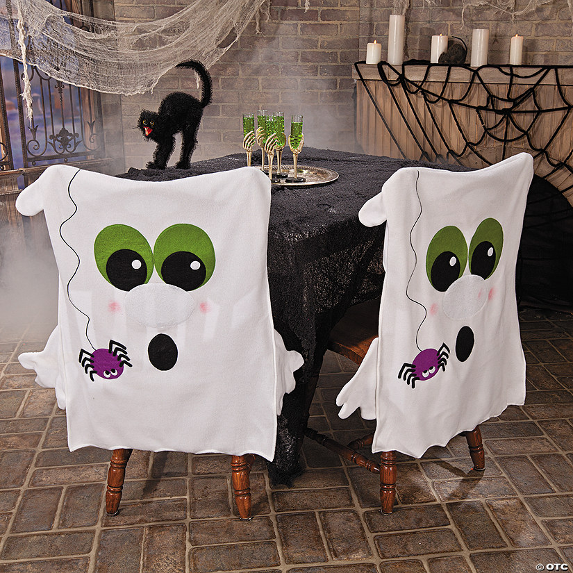 Amazing Ghost Chair Covers Halloween Decor Discontinued Caraccident5 Cool Chair Designs And Ideas Caraccident5Info