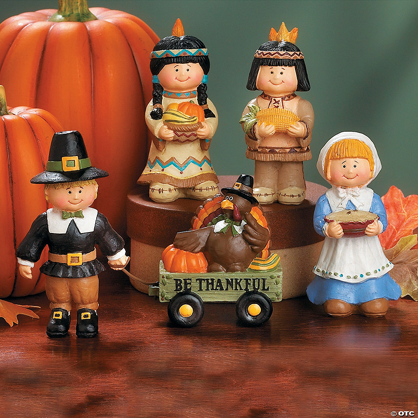 Pilgrim And Native American Figurines Discontinued