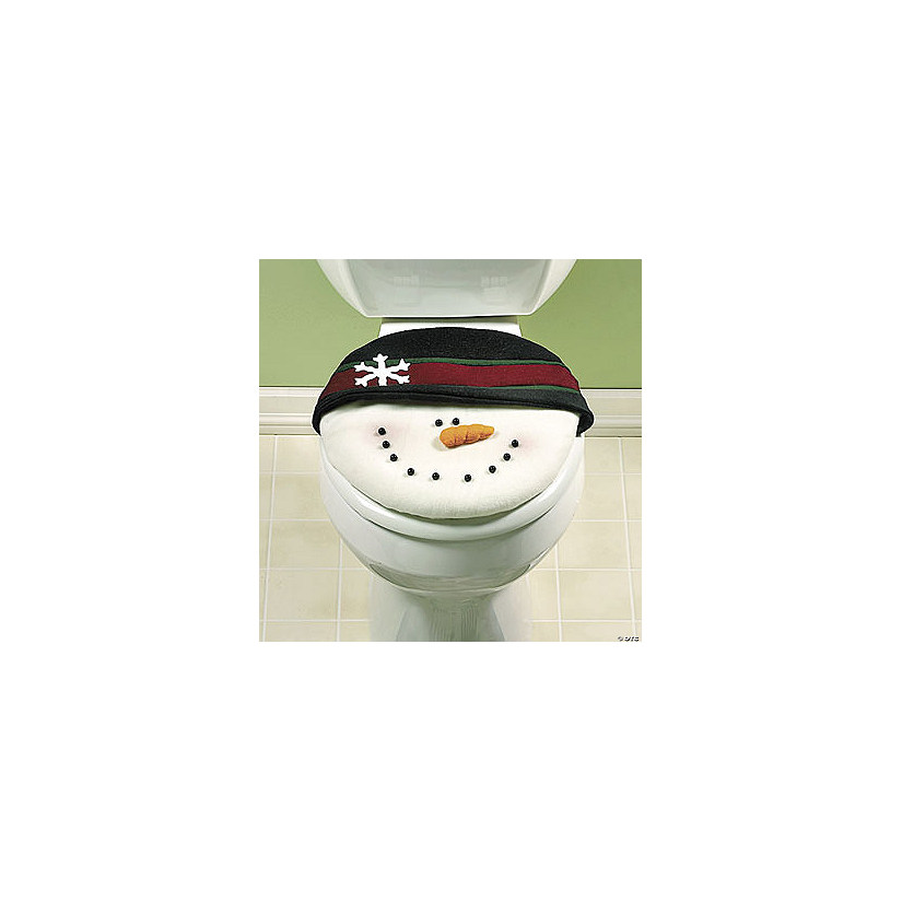 Swell Snowman Toilet Lid Cover Discontinued Pabps2019 Chair Design Images Pabps2019Com