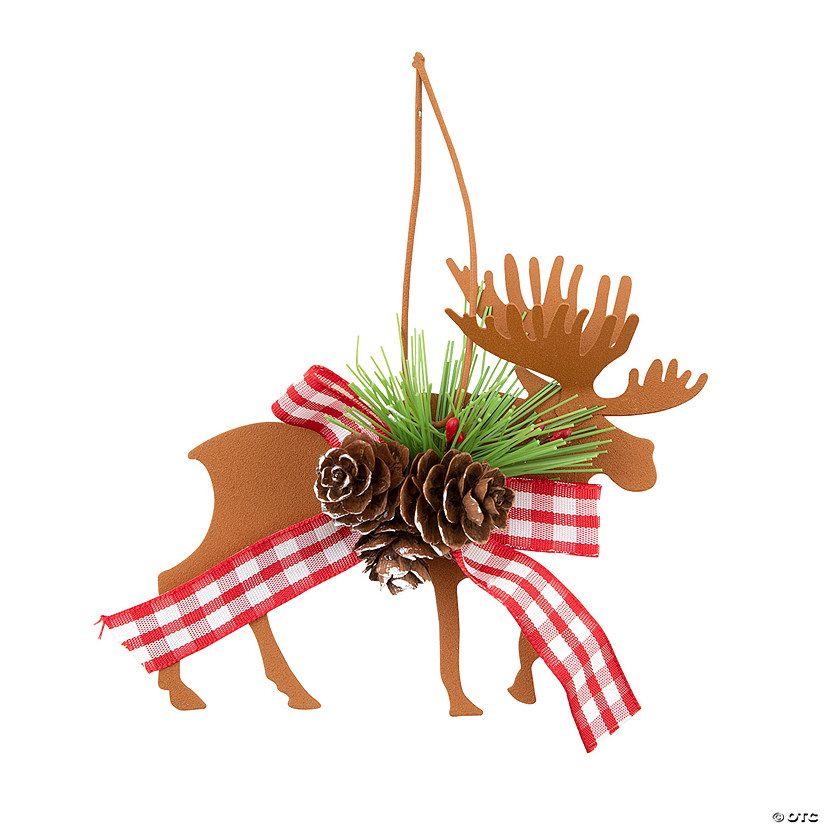 Die Cut Moose & Deer Christmas Ornaments
