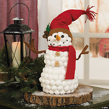 cotton ball snowman cotton snowman trading discontinued 1362