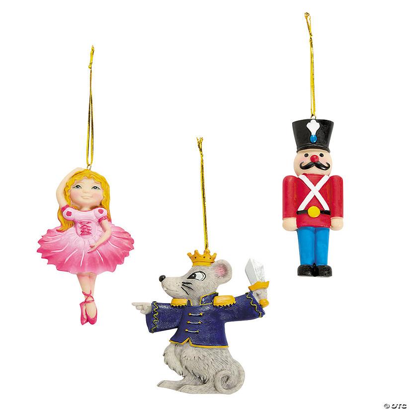 Nutcracker Ballet Christmas Ornaments