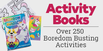 Activity Books. Over 250 Boredom Busting Activities