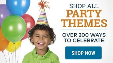 All Birthday Themes Milestone Birthdays