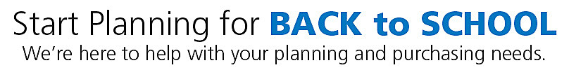 Start Planning for Back to School