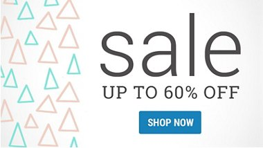 Sale - Up to 60% off!