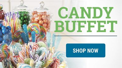 Delight Guests with a Candy Buffet