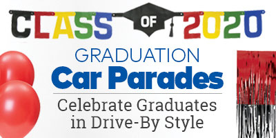 Graduation Car Parades. Celebrate graduates in drive-by style.
