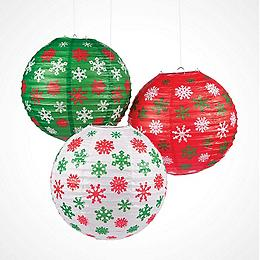 Paper Lanterns. New Christmas Finds