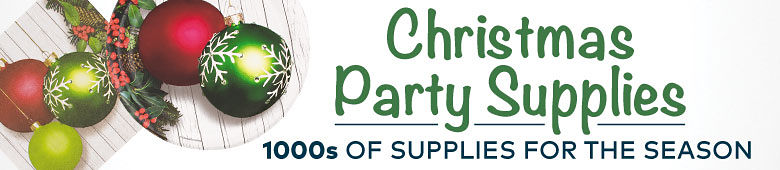 Christmas Party Supplies - Thousands of Supplies for the Season