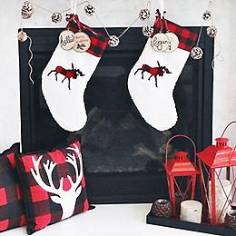 buffalo plaid - Buffalo Christmas Decorations