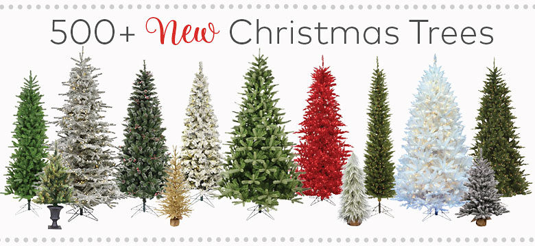 Christmas Trees – Choose From 500+ New Trees