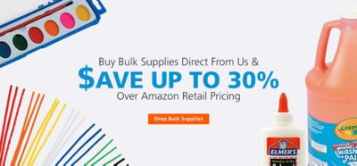 Buy Bulk Supplies Direct and Save Over 30% from Amazon
