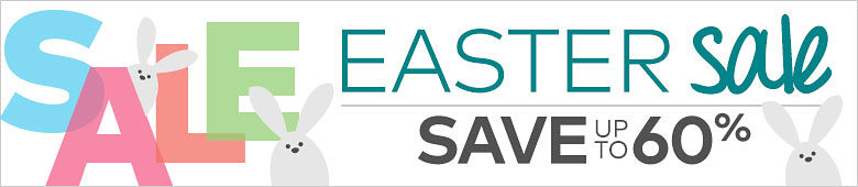 Easter Sale ¿ Save up to 60%