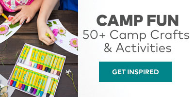 Camp Fun. 50+ camp crafts and activities. Get Inspired