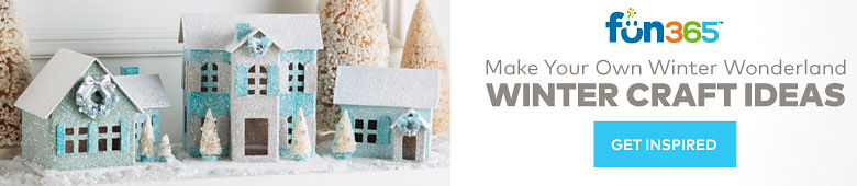 Fun365 - Make Your Own Winter Wonderland Winter Craft Ideas - Get Inspired