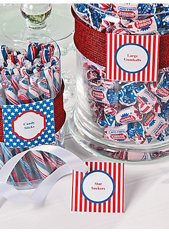 4th Of July Party Favor Ideas