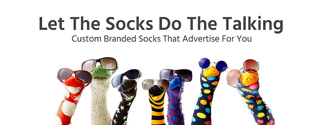 Image of sock puppets with sunglasses