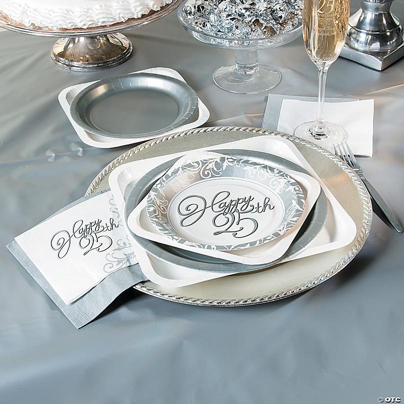 25th Wedding Anniversary Supplies Orientaltrading Com