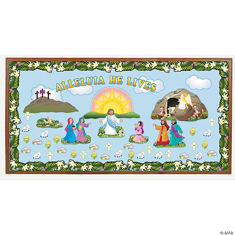 Save On Lent Holy Week Religious Bulletin Board Supplies Oriental Trading