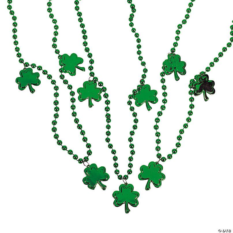 St Patrick/'s Day Costume Accessories Set Shamrock Green Headband Round Green Glasses St Pattys Day Decorations Irish Party Supplies St Patricks Day Accessories for Teen Girls Women Men