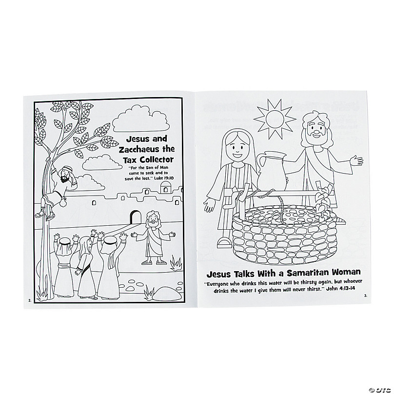 Bible Stories Coloring Books Oriental Trading
