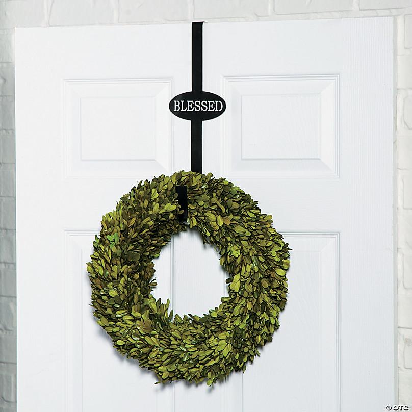 Blessed Wreath Door Hanger Oriental Trading