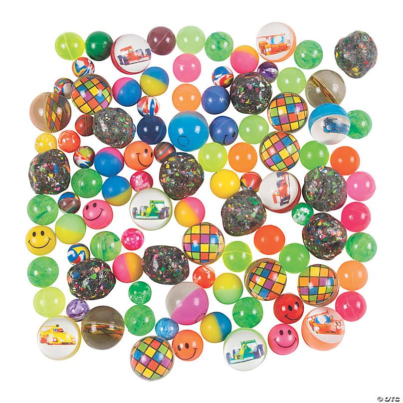 Pack 100 Mini Red Plastic Ball Beads