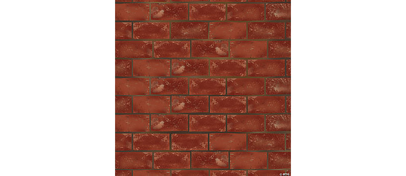 """Brick Wall Halloween Party Wall Banner Cover Decoration 42/"""" x 50/"""""""