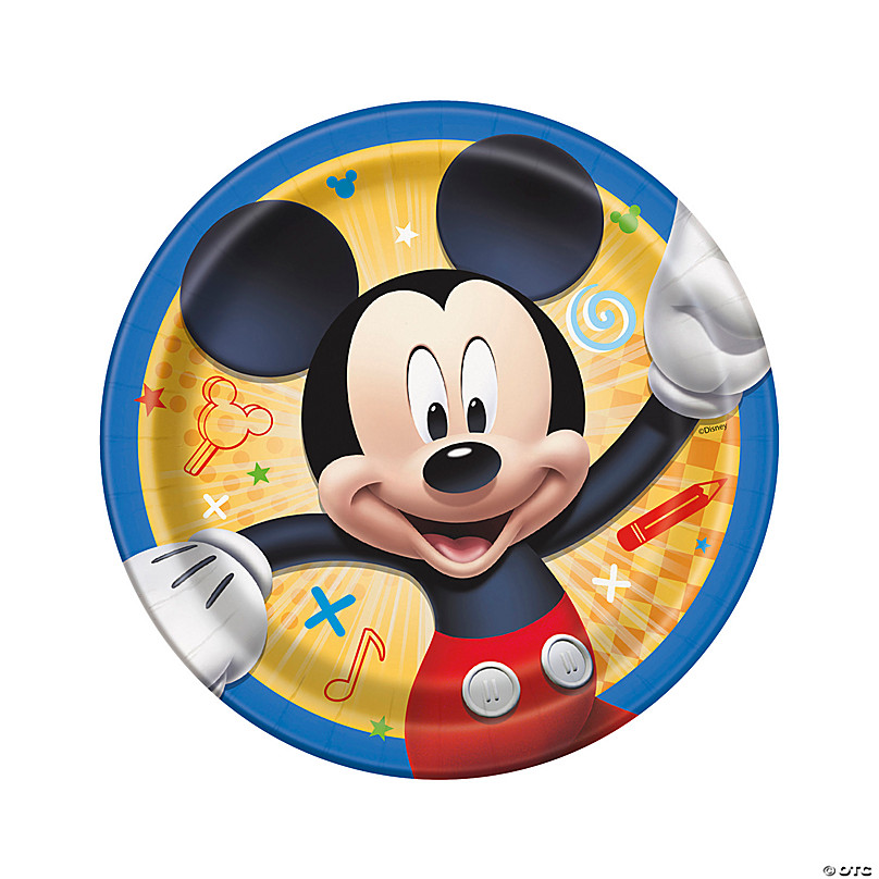 Mickey Mouse Themed Birthday Decoration  from s7.orientaltrading.com