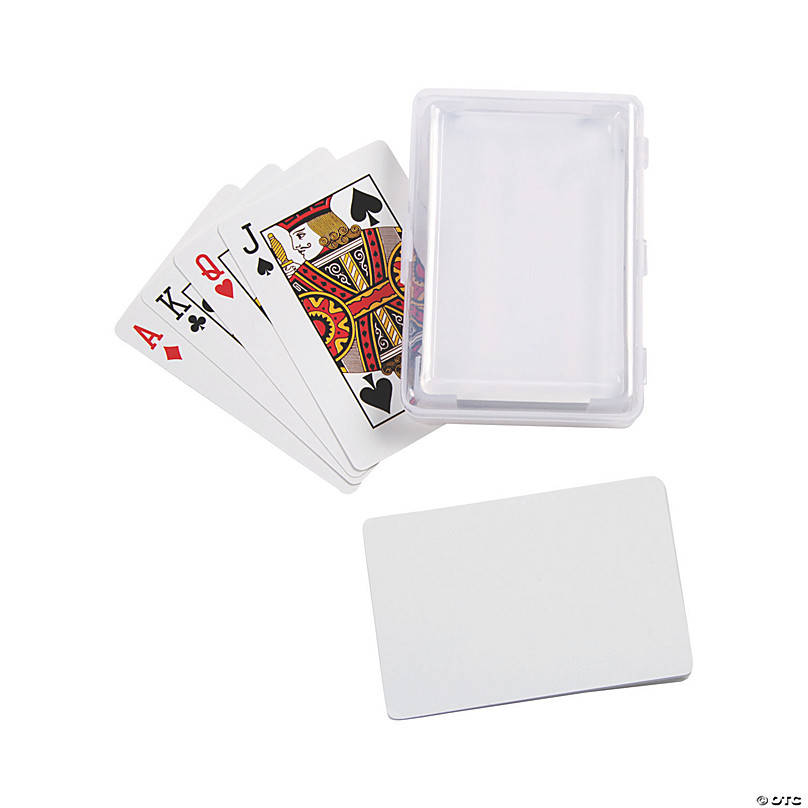 """Lot of 50PCs Sublimation Playing Card Size 2-1//2/"""" x 3-1//2/"""" with Rounded Corners"""