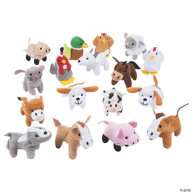 Farm Stuffed Animals Assortment Oriental Trading