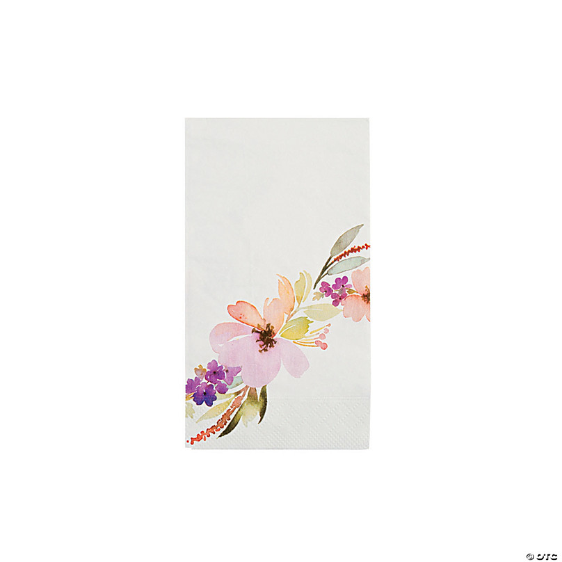 "Blooming Florals Spring Flower Garden Theme Party Bulk 10/"" Paper Banquet Plates"