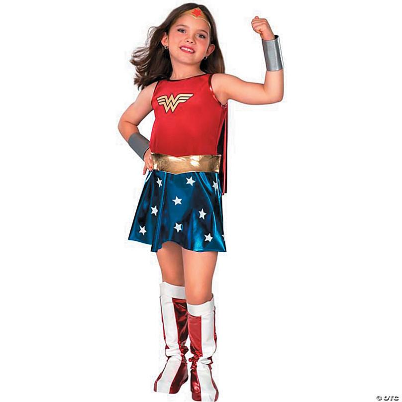 Child Dawn Of Justice DC Superhero Wonder Woman Halloween Costume Girls Princess